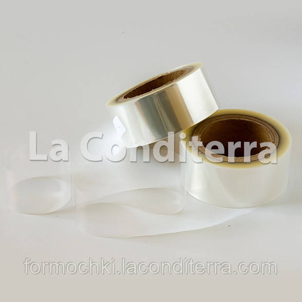 Плотная кондитерская лента (h=40 мм, толщина 83 мкм), в рулоне 100 м
