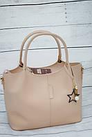 Женская сумка B.Elit, бежевый цвет ( код: IBG047M ), фото 1
