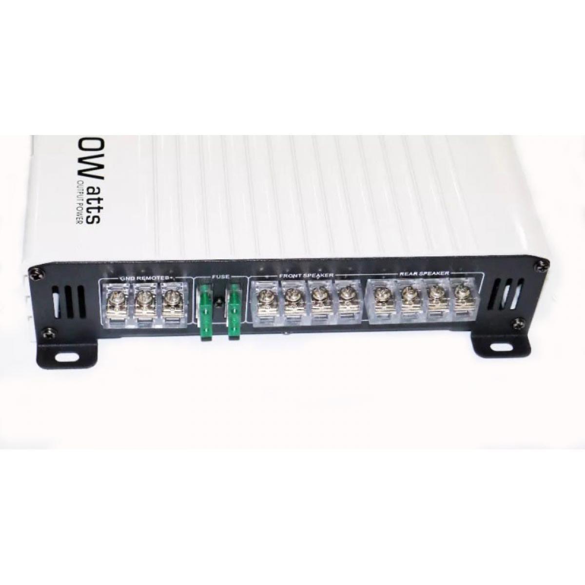 Автомобильный усилитель звука автоусилитель ADS AD-406 8000Вт