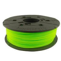Пластик для 3D-принтера XYZprinting PLA(NFC) 1.75мм/0.6кг Filament, Neon Green (RFPLCXEU0AD)