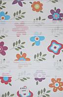 Готовые рулонные шторы Ткань BDM -1601 Цветы
