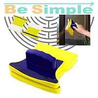 Двусторонняя магнитная щетка для мытья окон Double Faced Glass Wiper