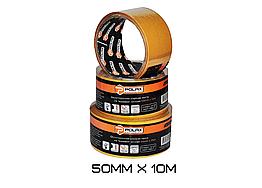 Скотч двухстороннийPolax 50мм х 10м