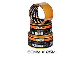 Скотч двухстороннийPolax 50мм х 25м