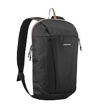 Рюкзак компактный черный на 10 литров (велосипедный, легкий, детский) QUECHUA