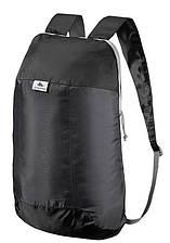 Легкий і компактний запасний рюкзак 10 літрів Чорний