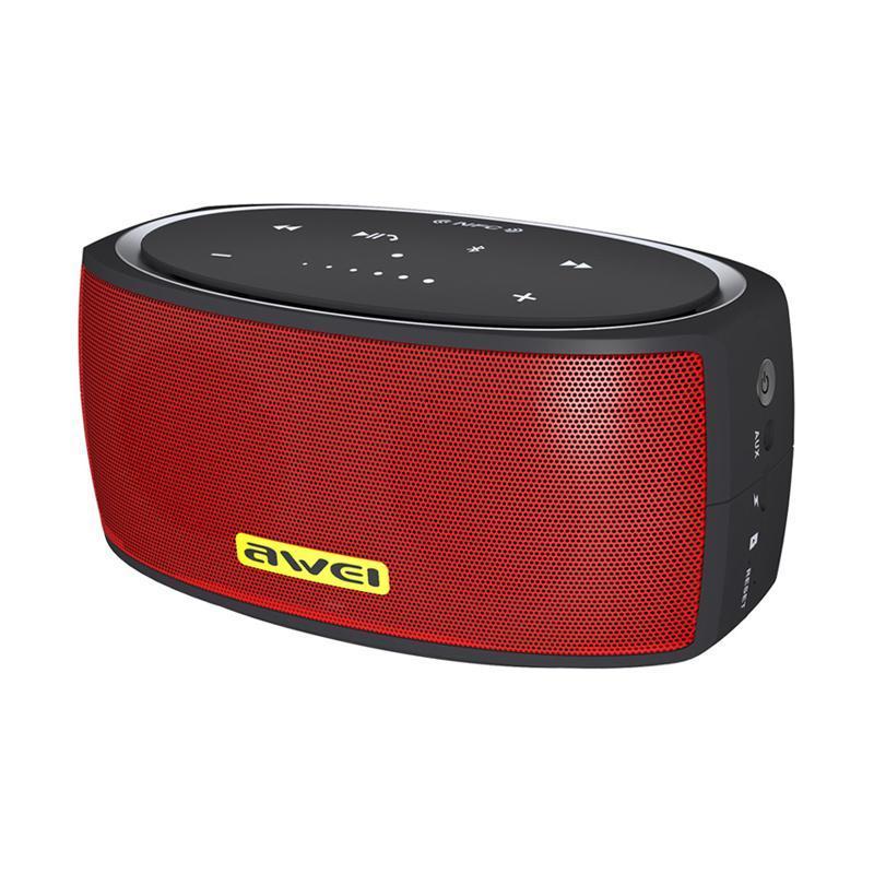 Портативная беспроводная bluetooth Колонка AWEI (OR) Y210 Red