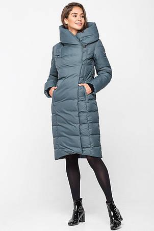 Теплая зимняя женская курточка KTL-223 - изумруд (#819), фото 2