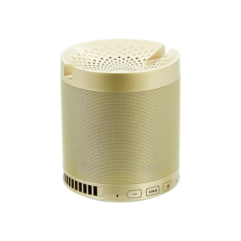 Портативная беспроводная bluetooth Колонка Q3 Gold