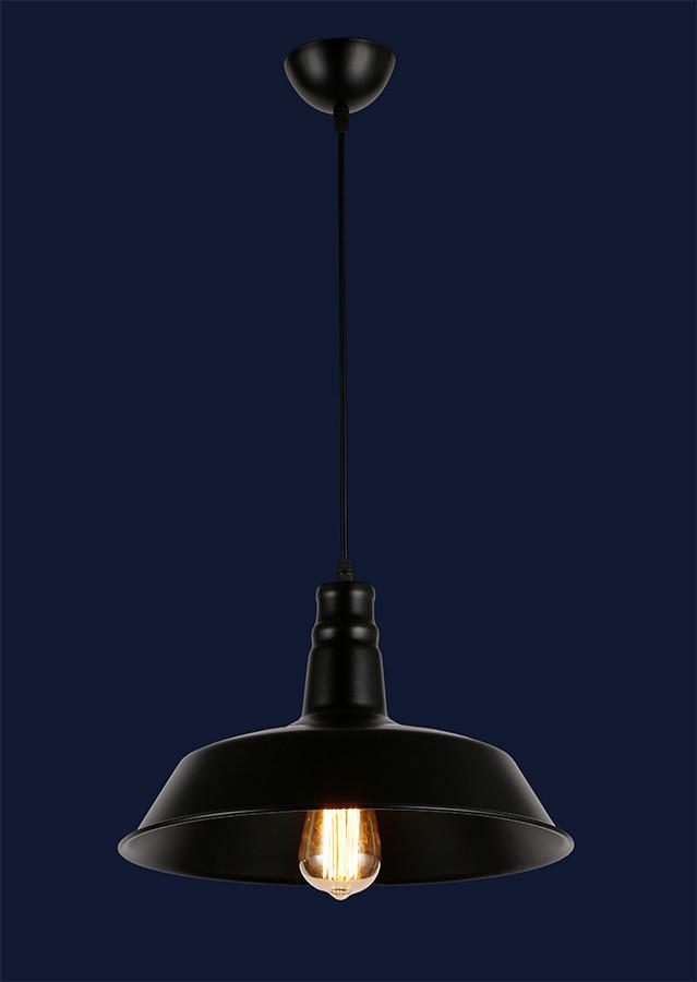 Подвесной светильник металл 7546452-1 BK+BK(360