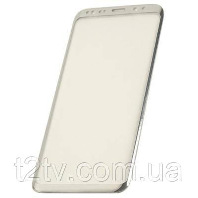 Стекло защитное PowerPlant Samsung S8 Silver 3D (GL601011)