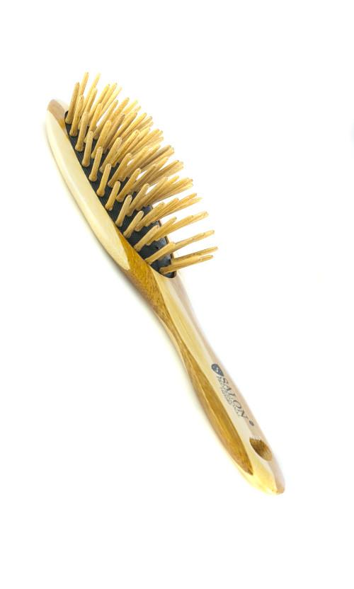 Salon  BP  Расческа  массажная бамбук  73252 Код 16429