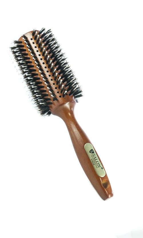 Salon CLB Брашинг натуральная щетина для укладки 4775  Код 16387
