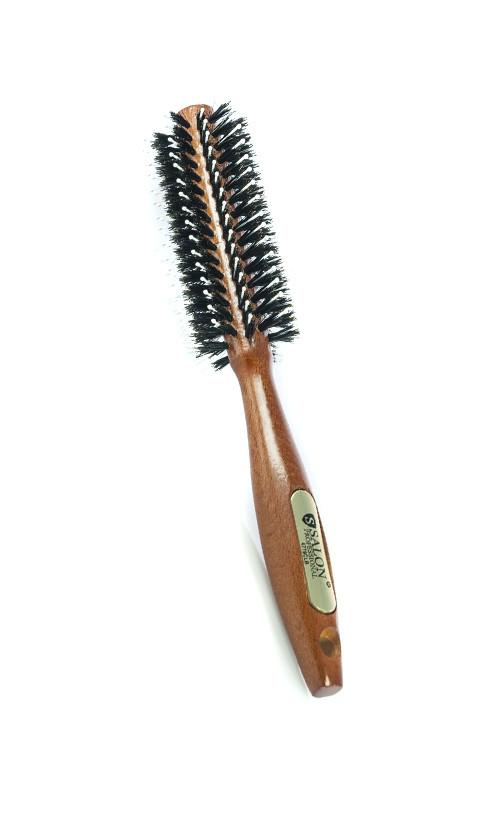 Salon CLB Щетка натуральная щетина для укладки 4779  Код 13338
