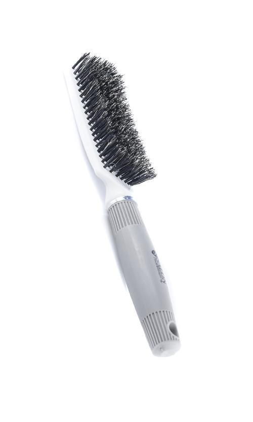 Salon TDF Щетка натуральная щетина для укладки 9742  Код 16415
