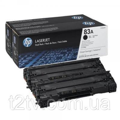 Картридж HP LJ  83A Black Dual Pack (CF283AF)