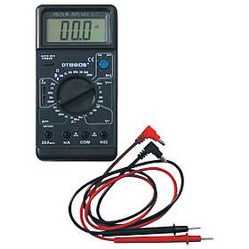 Тестер цифровой сверхточный dt-890 b+, мультиметр, высокая точность измерений, защита от перегрузки