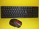 Безпровідний комплект клавіатура + миша HK6500, фото 5