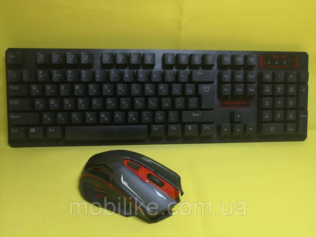 Безпровідний комплект клавіатура + миша HK6500
