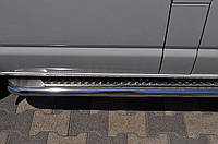 Подножки Honda CRV 2001-2006 (Труба 42мм)(1,6мм толщина) / Подножки Хонда ЦРВ 2001-2006