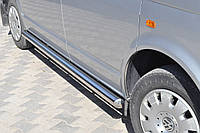 Подножки Honda CRV 2010-2012 (Труба 60мм)(1,6мм толщина) / Подножки Хонда ЦРВ 2010-2012