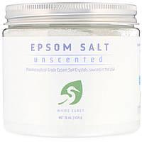 Английская соль для ванн White Egret Personal Care, без запаха, 454 г