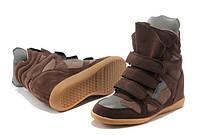 Кроссовки Isabel Marant коричневые