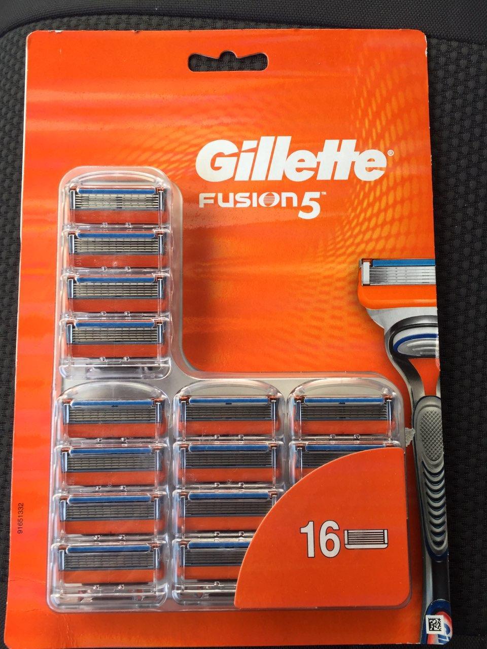 Кассеты для бритья Gillette Fusion 16 оригинал