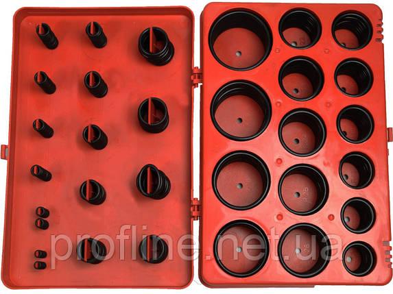 Комплект резиновых сальников 382 ед. INTERTOOL AT-5382, фото 2