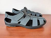 Босоніжки сандалі чоловічі сірі літні (код 493), фото 1