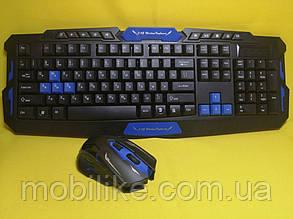 Бездротовий ігровий комплект клавіатура + миша HK8100
