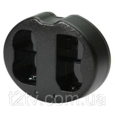 Зарядное устройство для фото PowerPlant Dual Nikon EN-EL14 для двух аккумуляторов (DV00DV3390)