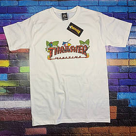 Белая футболка Thrasher summer • Ориг бирка