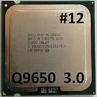 Процессор ЛОТ #12 Intel® Core™2 Quad Q9650 SLB8W  3.0GHz 12M Cache 1333 MHz FSB Soket 775 Б/У, фото 1
