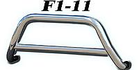 Кенгурятник Mitsubishi Outlander 2003-2006 (Труба 51мм)(1,6мм толщина) / Кенгурятник Митсубиши Оутландер 2003-2006
