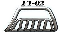 Кенгурятник Mitsubishi Outlander 2006-2010 (Труба 51мм)(1,6мм толщина) / Кенгурятник Митсубиши Оутландер 2006-2010
