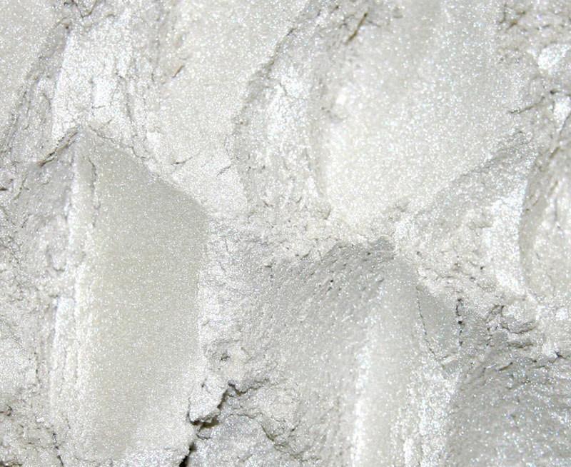 """Пудра для декорирования """"WhitePearl"""", белая жемчужина, 50 г"""