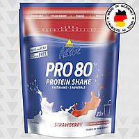 Протеин Inkospor Active Pro 80 (500 г) Клубника, фото 1