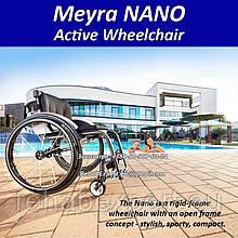 Ультра легка активна коляска Meyra NANOActive Wheelchair 1.155