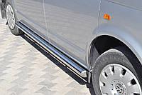 Подножки Mercedes-Benz Vito 639 2004-2009 (Труба 60мм)(1,6мм толщина) / Подножки Мерседес Вито 639 2004-2009