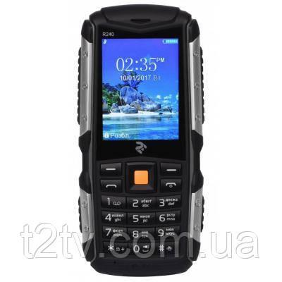 Мобильный телефон Twoe R240 Dual Sim Black (708744071057)