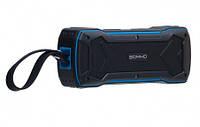Портативная Bluetooth колонка SOMHO S335 Беспроводная блютуз колонка Somho Black-Blue