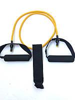 Эспандер 1.2 метр желтый 8 мм + дверной якорь, фото 1