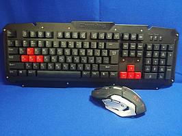 Комплект беспроводная клавиатура и мышь HK6700