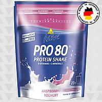 Протеин Inkospor Active Pro 80 (500 г) Малиновый йогурт, фото 1