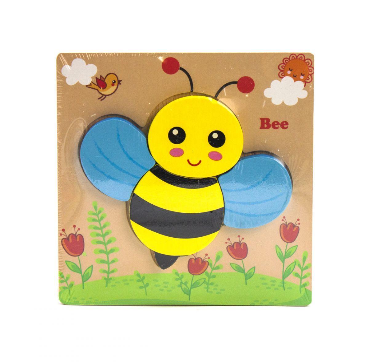 Деревянная игра Пазлы Милая пчелка C36032