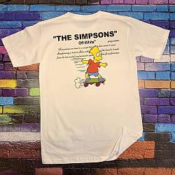 Футболка OFF WHITE • Simpsons
