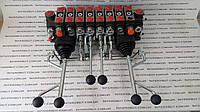 Гідравлічний розподільник на маніпулятор з двома трйох  осьовими джойстиками, фото 1