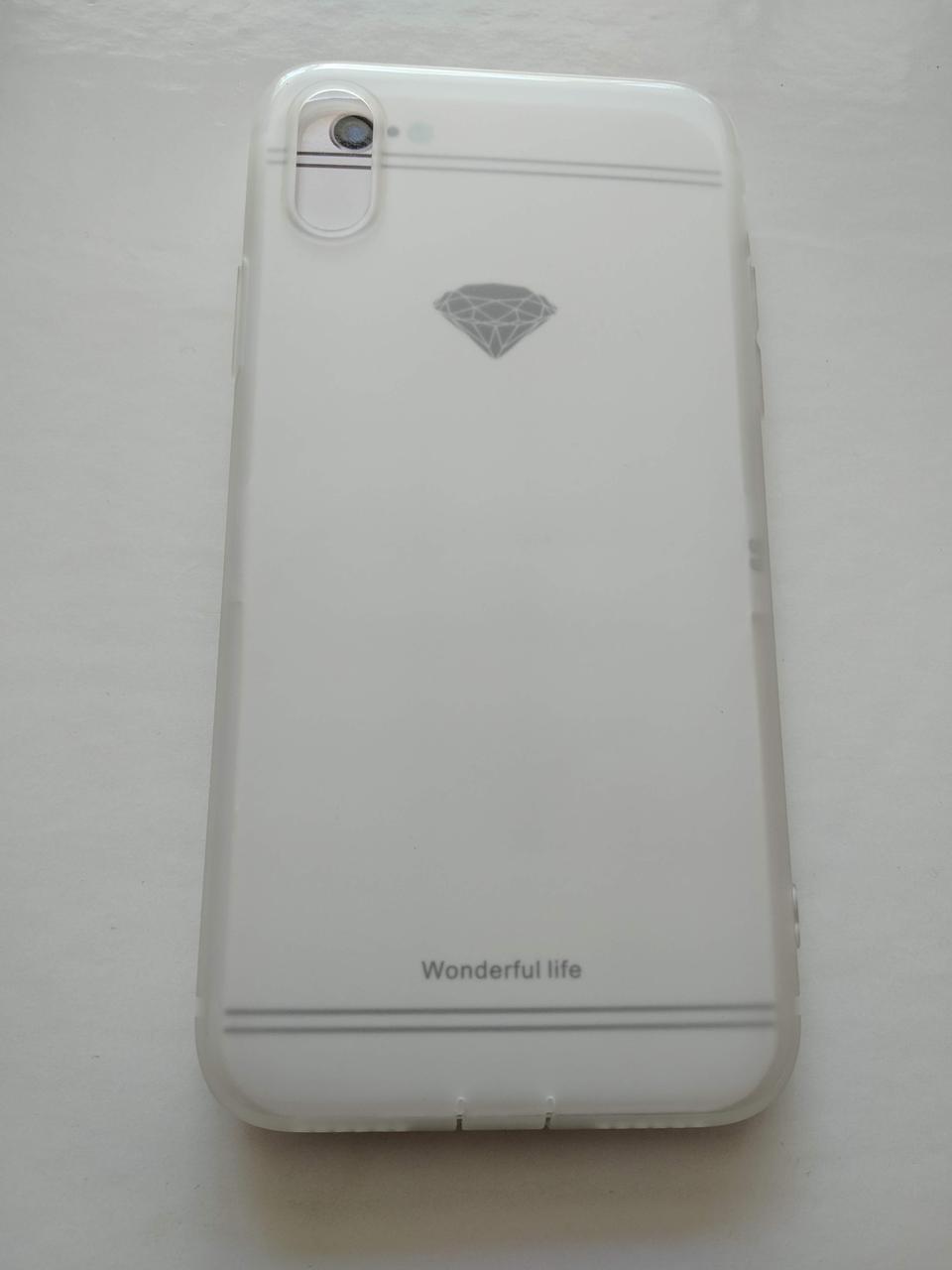 Матовий чохол на iPhone XS