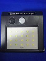Настенный светильник на солнечной батарее